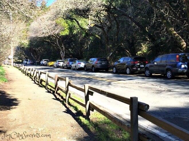 muir woods road parking