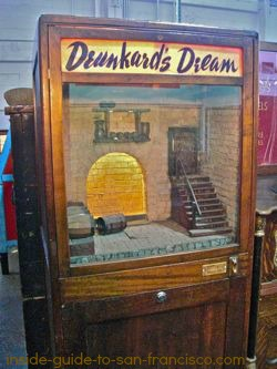 Drunkard's Dream at Musee Mecanique