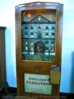 The English Execution at Musee Mecanique