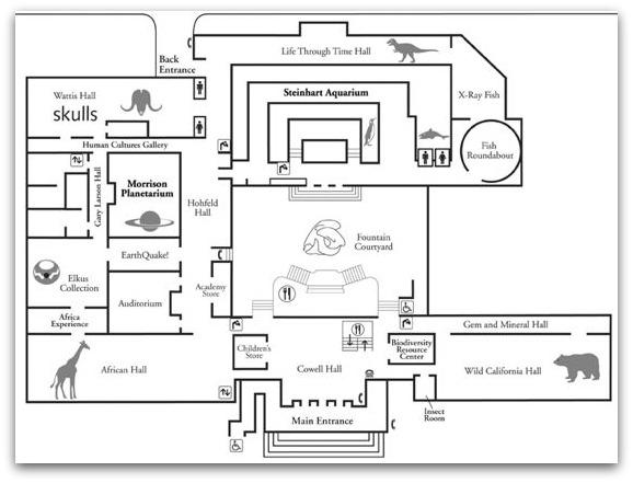 Old Academy of Sciences Floor Plan