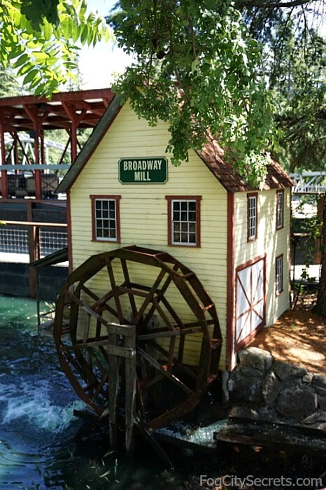 Old mill at Sonoma Train Town