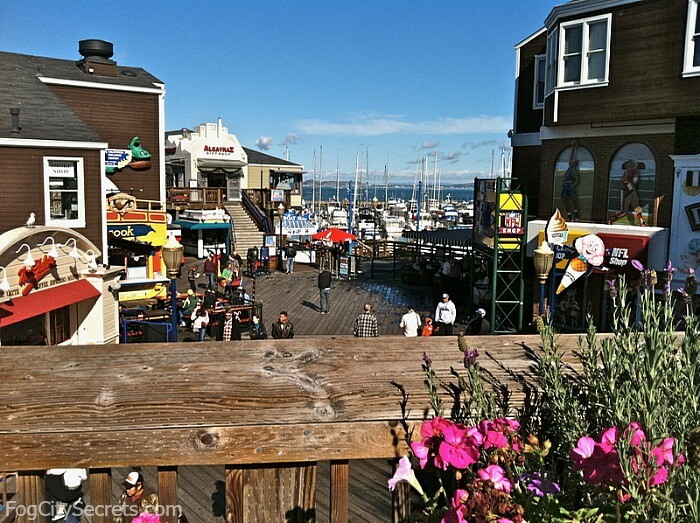 pier 39 boardwalk and shops