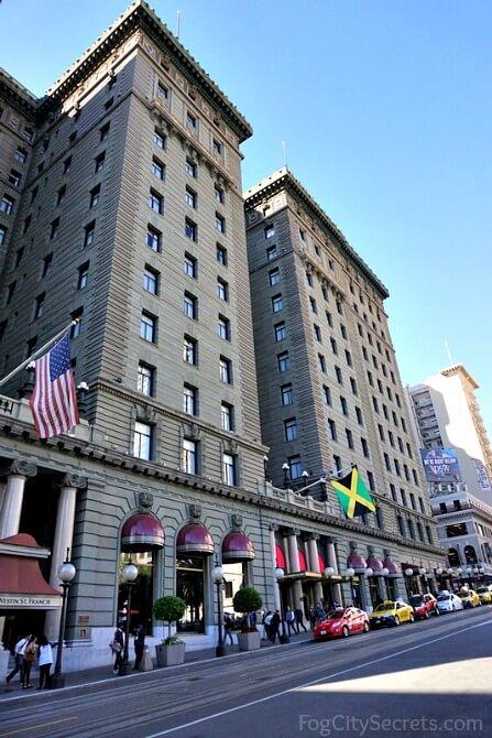 Westin Saint Francis Hotel, front view, San Francisco