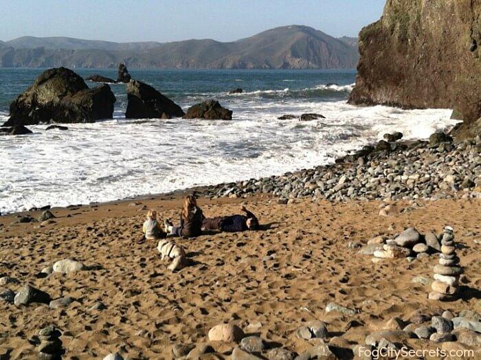 Mile Rock Beach, Lands End, San Francisco