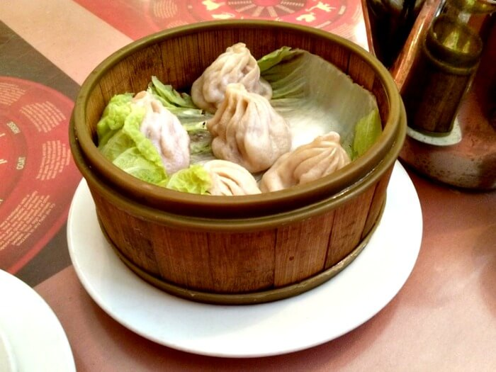 Bowl of soup dumplings