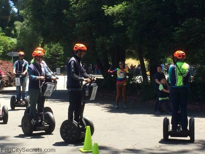 Segway lesson, Golden Gate Park