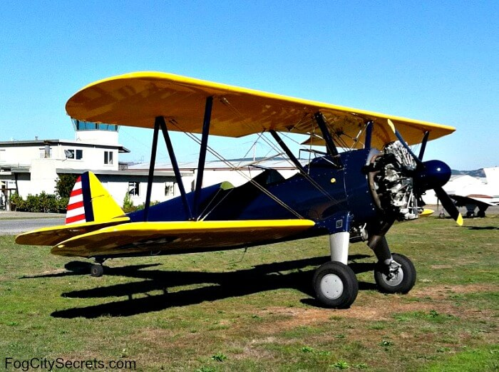 World War 2 fighter plane, Boeing Stearman