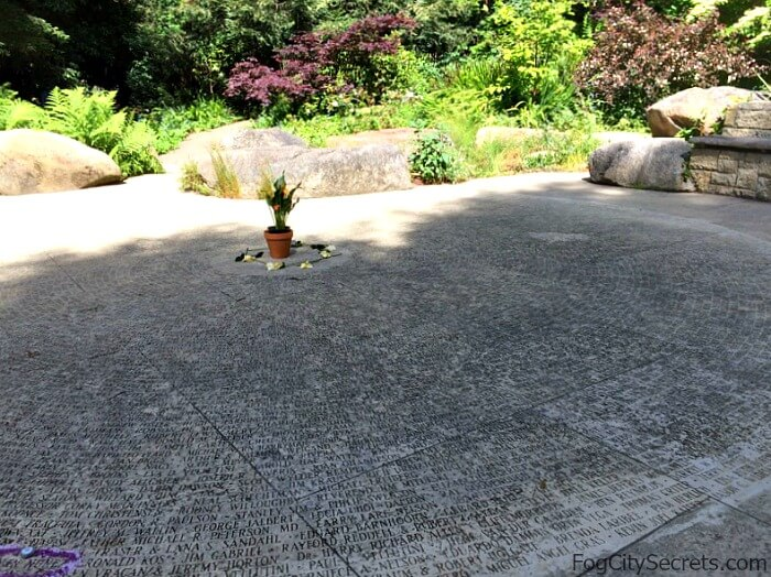 Circle of Friends, AIDS Memorial Grove, Golden Gate Park