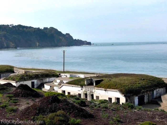 Battery Chamberlin, Baker Beach