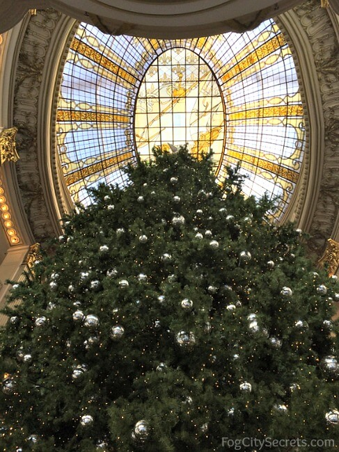 Christmas Tree at Neiman Marcus, San Francisco