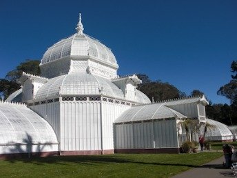 Pavilion at Conservatory of Flowers