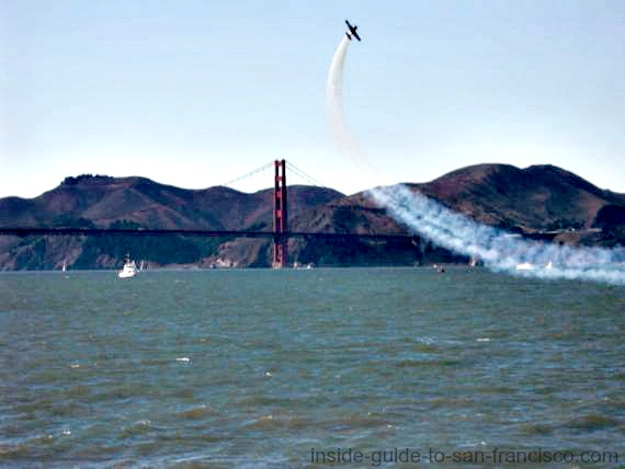 Fleet Week San Francisco air show