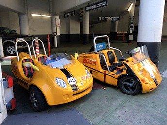 Yellow GPS Go Cars