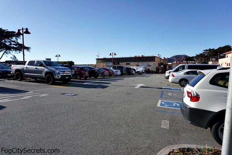 Golden Gate Bridge Employee Parking Lot