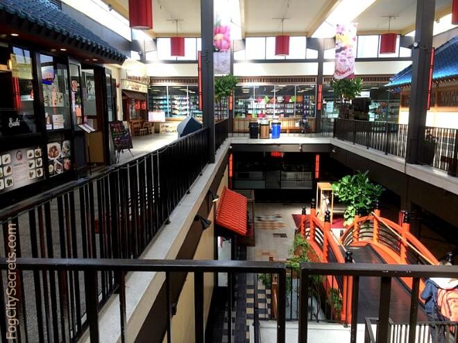 inside the east mall, san francisco japantown