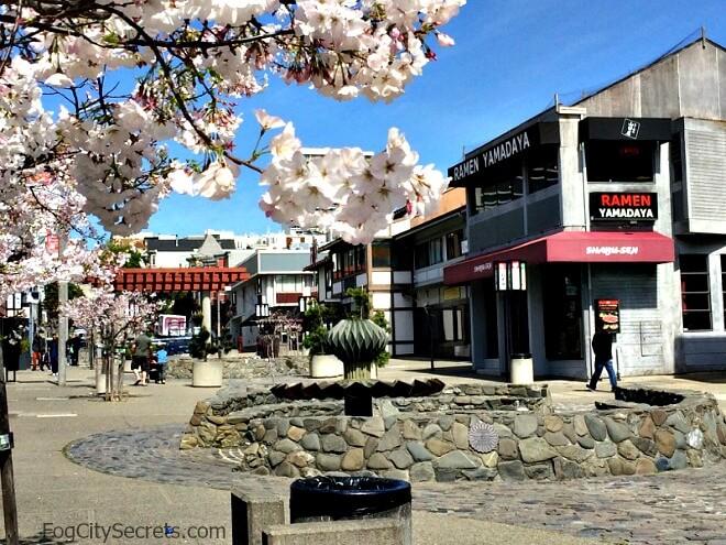 san francisco japantown, buchanan street pedestrian way