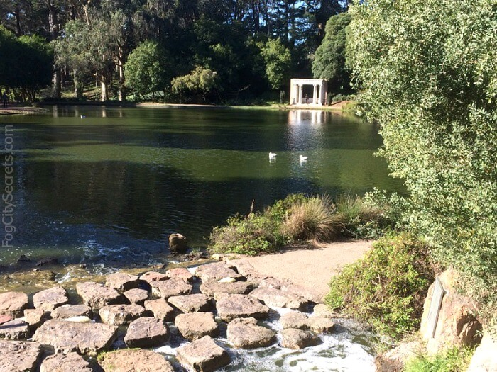 Portals of the Past, at Lloyd Lake,  Golden Gate Park