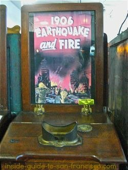 The 1906 Earthquake at Musee Mecanique