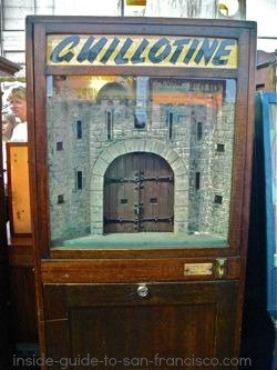 The Guillotine at Musee Mecanique