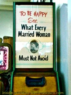 Marriage advice at Musee Mecanique