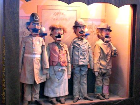Singing quartet at Musee Mecanique