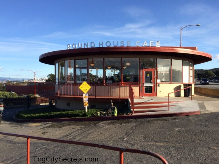 The Roundhouse Cafe, Golden Gate Bridge