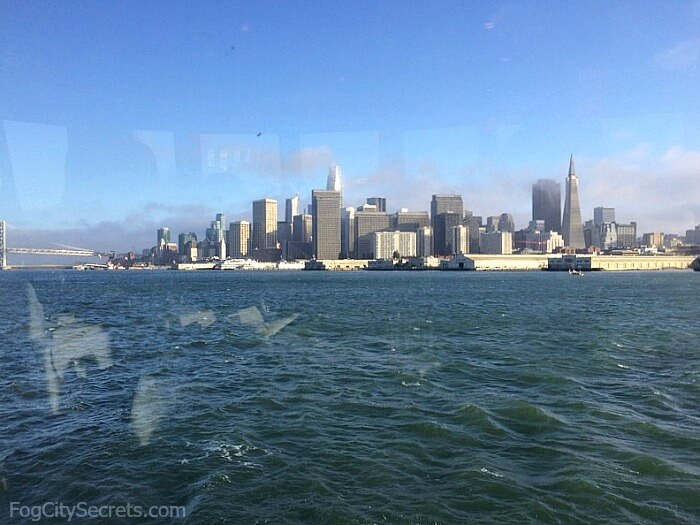 City view in daylight, San Francisco dinner cruise