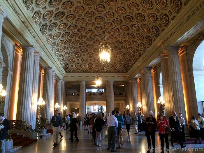 Lobby of SF Opera House