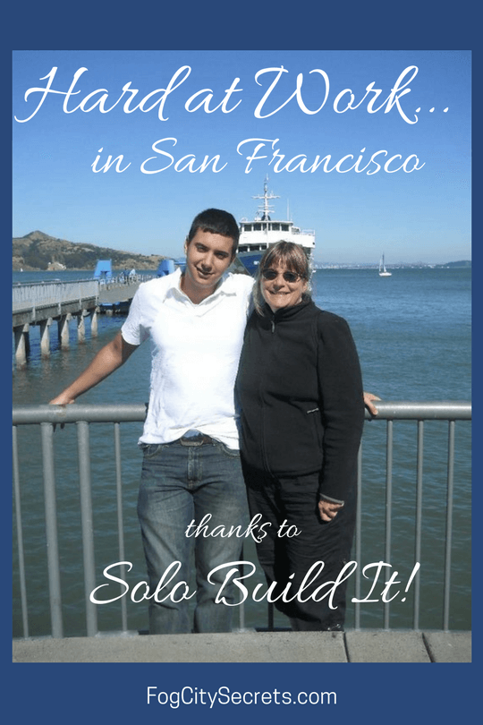 Waiting for the Sausalito Ferry