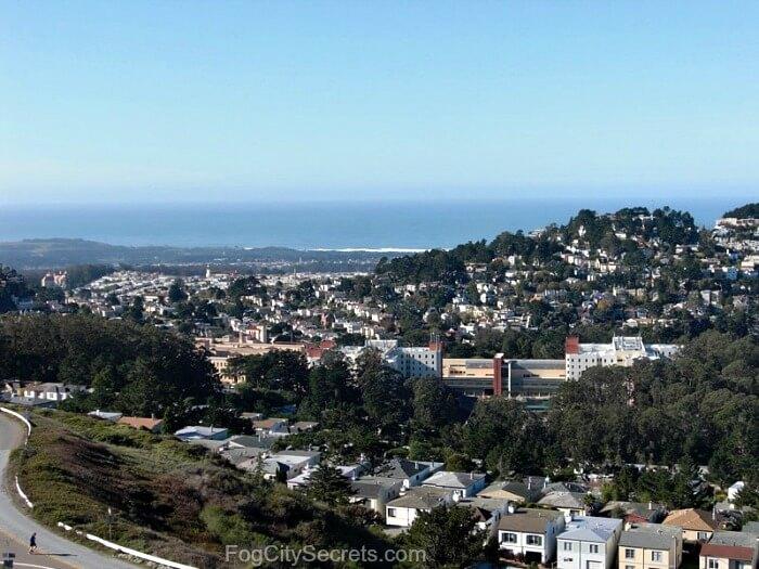 Twin Peaks San Francisco Ocean View
