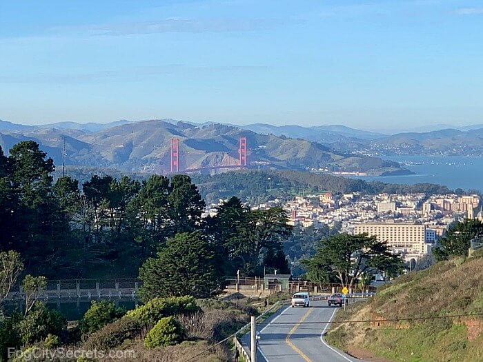 Twin Peaks San Francisco Golden Gate View